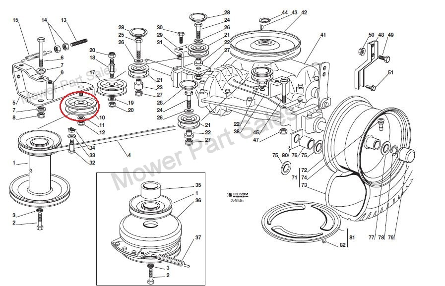 john deere 210 lawn tractor wiring diagram schematic difference transmission idler pulley flat fits honda hf1211 hf2113 hf2114 hf2315 hf2213 hf2417 hf22616 ...